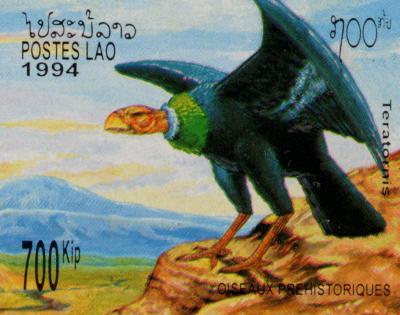 vulture stamp