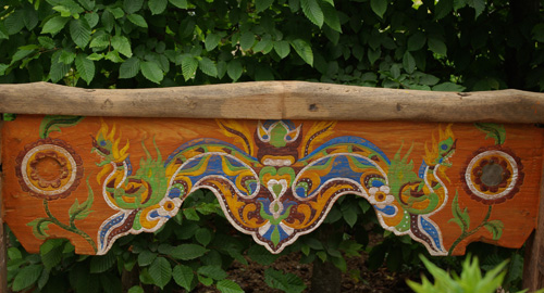back of bench