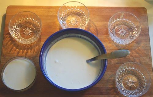 filling bowls